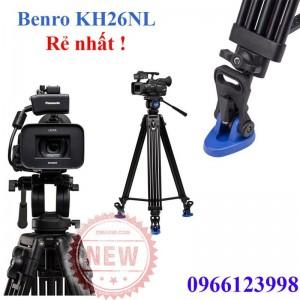 Chân máy quay phim Benro KH26 NL - chính hãng giá rẻ