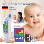 Nhiệt kế đo tai Braun Irt 6520 chính hãng Đức