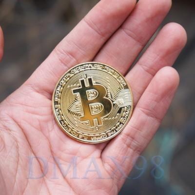 Đồng Bitcoin mạ vàng hàng chuẩn giá tốt