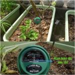 Máy phân tích độ ẩm, độ PH, ánh sáng cho cây trồng