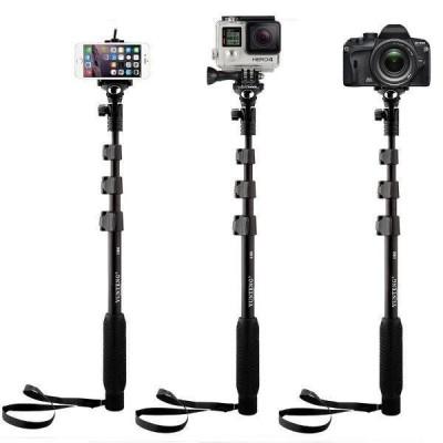 Monopod kiêm gậy tự sướng cho điện thoại, camera hành trình, máy ảnh mirrorless