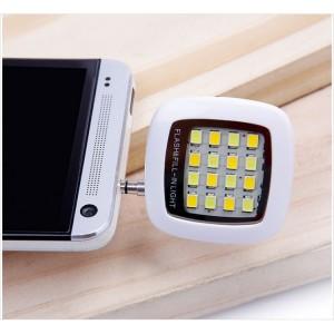 Đèn flash led sạc điện hỗ trợ chụp ảnh bằng camera trước của smartphone