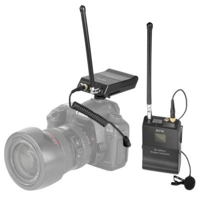 Micro không dây Boya WFM12 VHF chính hãng để quay video, mv, vlog chuyên nghiệp - WFM12 VHF