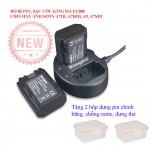 Bộ 02 Pin sạc máy ảnh Sony Fz100 cho A7iii, A7riii, A7Siii, A9 chính hãng Kingma, ravpower
