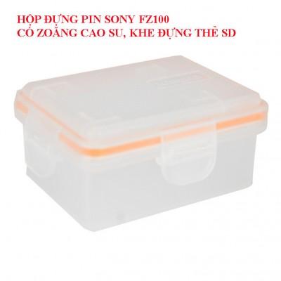 Hộp đựng pin FZ100 cho pin Sony FZ100 sử dụng trên a7iii, a7riii. a9