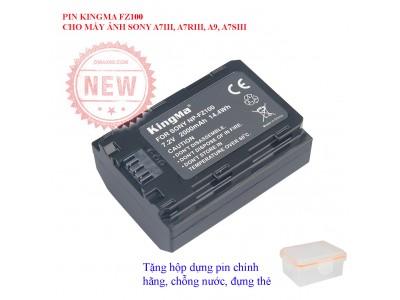 Pin Kingma FZ100 cho máy ảnh Sony A7iii, Sony A9, Sony A7riii