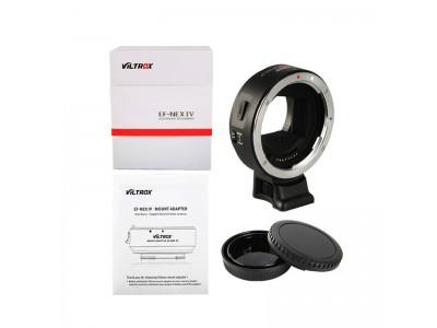 Ngàm chuyển AF viltrox IV cho máy ảnh Sony dùng len canon
