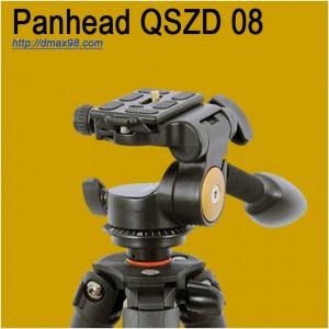 Đầu video Panhead quay video chuyên nghiệp chính hãng Beike Q08