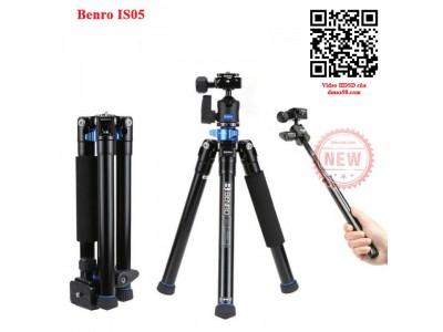 Chân máy ảnh Tripod Benro IS05 giá tốt nhất
