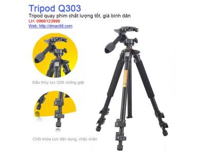 Chân máy ảnh Tripod Beike Q303 chính hãng giá tốt nhất