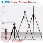 Chân máy ảnh Tripod Beike Q999C