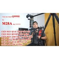 Chân máy ảnh M28A - Sản phẩm cực kỳ hữu dụng cho các bạn chụp ảnh sản phẩm, quay thao tác tay