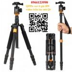 Chân máy ảnh Tripod Beike Q999s ver ii giá tốt - Tặng kẹp điện thoại