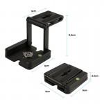 Thanh Z plate đa năng cho máy ảnh, DSLR giá tốt tại dmax98.com