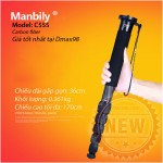 Monopod Manbily C555 carbon fiber chính hãng rẻ nhất