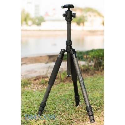 Chân máy ảnh Tripod Manbily CZ-308 carbon chính hãng