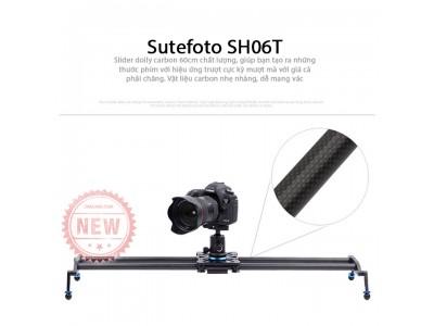 Thanh trượt slider dolly Sutefoto SH06T carbon fiber 60cm