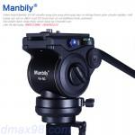 Đầu Video head Manbily VH-80 quay phim chuyên dụng