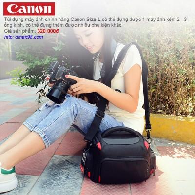 Túi máy ảnh Canon size L chính hãng giá tốt tại Dmax98.com