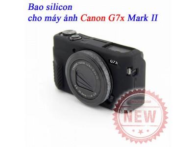 Bao silicon cho máy ảnh G7x Mark ii Canon