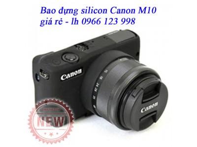 Bao silicon cho máy ảnh Canon EOS-M10 - Canon M10