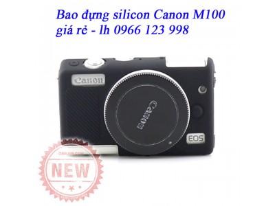 Bao silicon đựng máy ảnh Canon M100, Eos-M100, M100