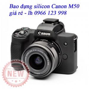 Bao silicon đựng máy ảnh Canon M50, EOS-M50, canon EOS m50