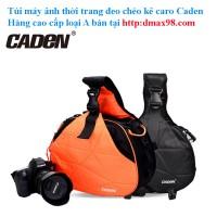 Túi máy ảnh Caden K1 loại cao cấp caro tại dmax98