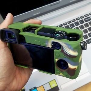 Bao silicon cho Máy ảnh Sony A6300 ôm khít, không cấn nút bấm