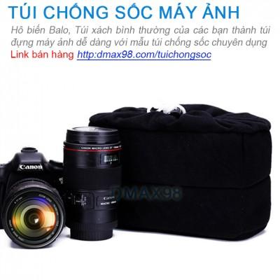Túi chống sốc cho máy ảnh, balo đựng máy ảnh