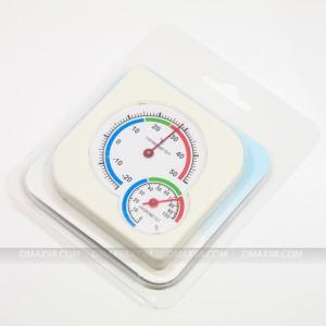 Nhiệt kế - Ẩm kế y tế đo nhiệt độ, độ ẩm treo tường, để bàn