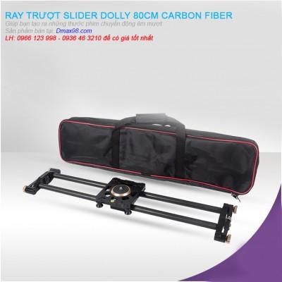 Ray trượt Dolly Slider 80cm Carbon fiber giá tốt nhất