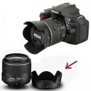 Hood lens loa che nắng Nikon HB69 cho ống kính 18-55 Vr ii