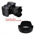 hood lens hoa sen cho ống kính Canon 50mm STM