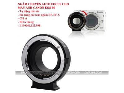 Ngàm chuyển AF chính hãng Meike cho máy ảnh Canon EOS-M