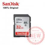 Thẻ nhớ máy ảnh SDHC-Sandisk 32gb tốc độ 80mb bh 5 năm