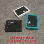 Hộp đựng thẻ nhớ SDHC cho máy ảnh, bảo quản và chống thất lạc thẻ nhớ