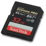 Thẻ nhớ máy ảnh Sandisk Extreme Pro 32gb tốc độ 633x quay phim 4K