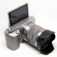 Sony nex F3 hình thức 98%, kèm ống kính check shot vài k shot